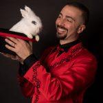 mago Gigi con Coniglio